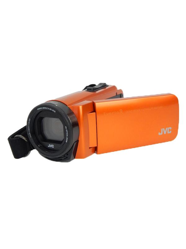 【JVC】【Victor】ジェイブイシー『Everio R ハイビジョンメモリームービー GZ-RX670』GZ-RX670-D Wi-Fi 防水・防塵 229万画素 ビデオカメラ 1週間保証【中古】b05e/h10B