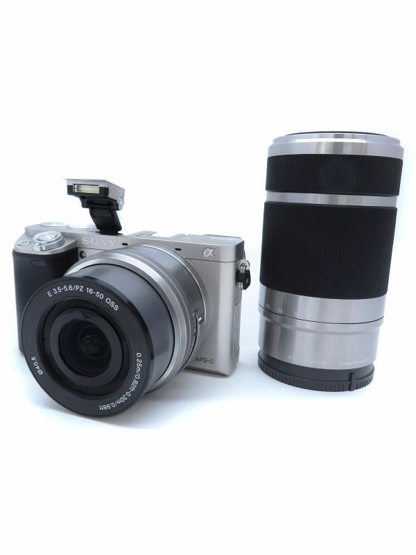 【SONY】ソニー『α6000ダブルズームレンズキット』ILCE-6000Y ミラーレス一眼カメラ 1週間保証【中古】b06e/h16A