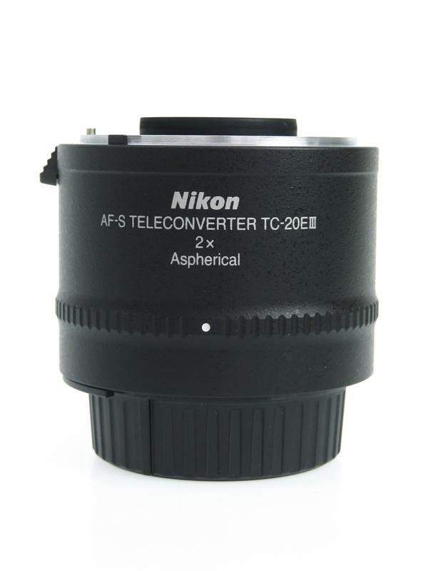 【Nikon】ニコン『AF-S TELECONVERTER TC-20E III』FXフォーマット 新光学設計 アタッチメントレンズ 1週間保証【中古】b06e/h19AB
