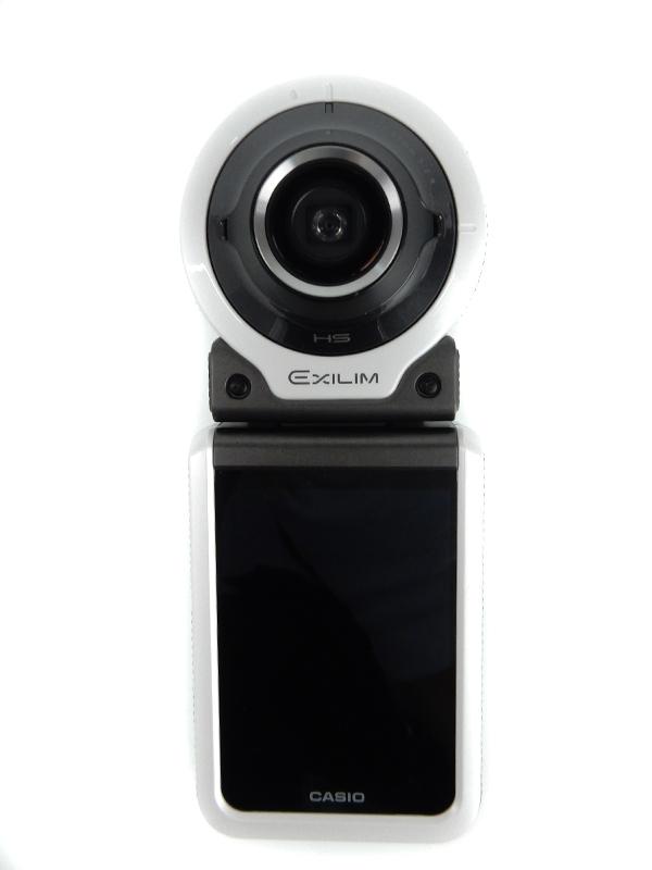 【CASIO】カシオ『EXILIM(エクシリム)』2015年 EX-FR100WE ホワイト 1020万画素 microSDXC フルHD動画 コンパクトデジタルカメラ 1週間保証【中古】b05e/h21AB