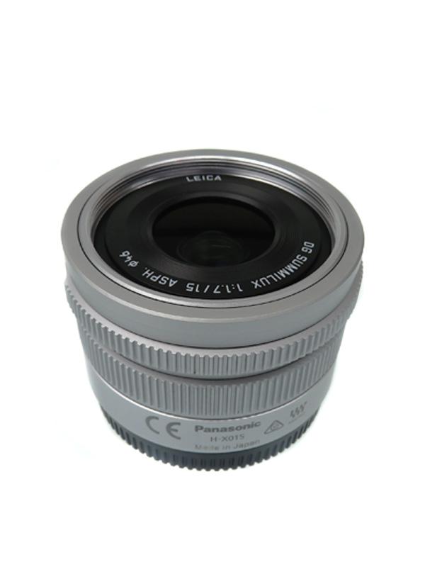 【Panasonic】パナソニック『LEICA DG SUMMILUX 15mm F1.7 ASPH. 』H-X015 レンズ 1週間保証【中古】b03e/h06A
