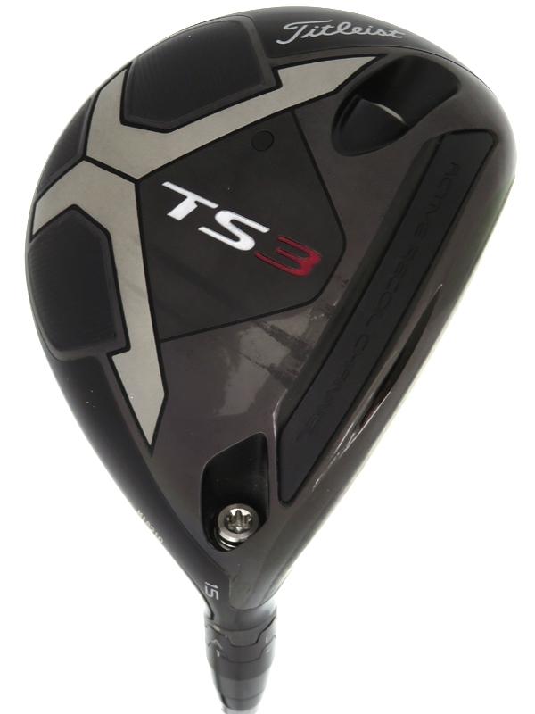 【Titleist】タイトリスト『TS3 フェアウェイメタル 15° Speeder 519 EVOLUTION フレックスSR』右利き フェアウェイウッド ゴルフクラブ 1週間保証【中古】b06e/h19AB