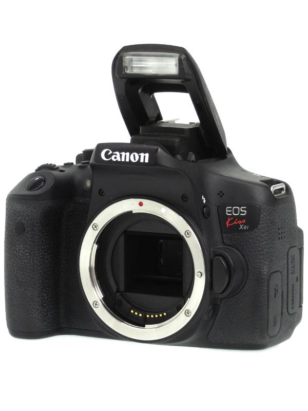【Canon】キヤノン『EOS Kiss X8i ボディー』2420万画素 EF-S SDXC フルHD動画 デジタル一眼レフカメラ 1週間保証【中古】b03e/h11B