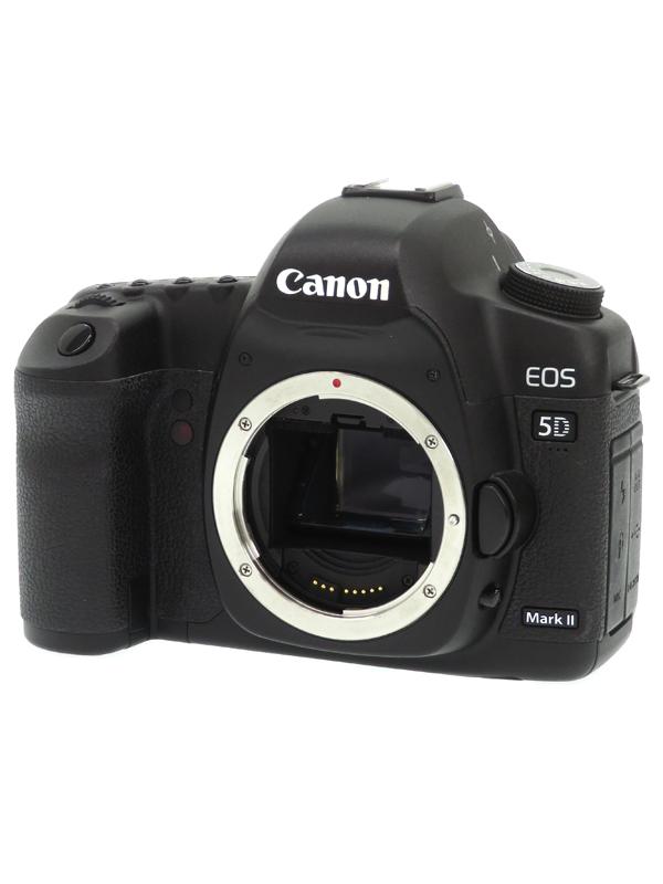 【Canon】キヤノン『EOS 5D Mark II ボディ』EOS5DMK2 2110万画素 フルサイズ CFカード フルHD動画 デジタル一眼レフカメラ 1週間保証【中古】b05e/h21B