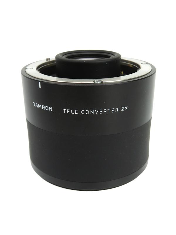 【TAMRON】タムロン『TELE CONVERTER 2.0x キヤノン用』TC-X20E 2倍 防塵防滴構造 手ブレ補正 レンズアクセサリー 1週間保証【中古】b03e/h03AB