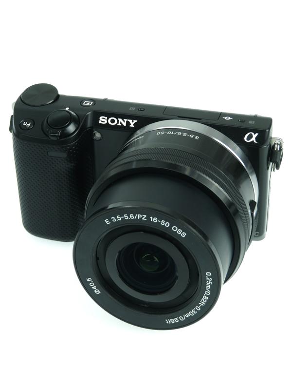 【SONY】ソニー『パワーズームレンズキット』NEX-5RL ブラック 1610万画素 3インチ Wi-Fi ミラーレス一眼カメラ 1週間保証【中古】b03e/h03AB