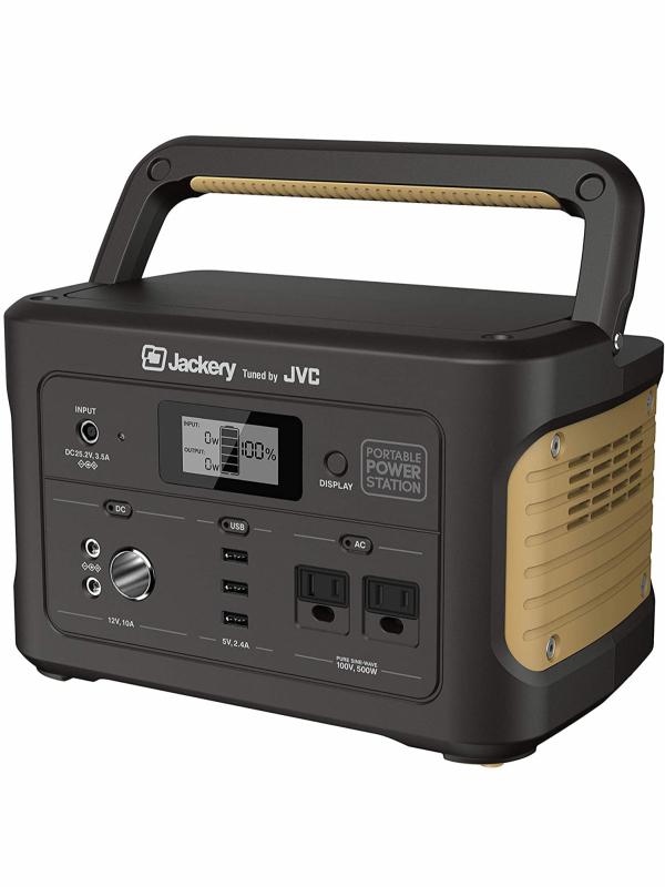 【JVC】ジェイブイシー『ポータブル電源 大容量 174,000mAh/626Wh 防災 非常用電源』BN-RB6-C 1週間保証【新品】b00e/b00N
