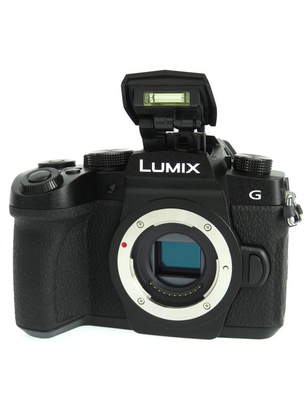 【Panasonic】パナソニック『LUMIX(ルミックス) DC-G99』DC-G99-K 高画質 4K 手ブレ補正機能 デジタル一眼カメラ 1週間保証【中古】b03e/h07AB