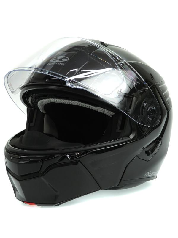 【OGK Kabuto】オージーケーカブト『KAZAMI(カザミ) ブラックメタリック』57-58cm フルフェイス バイクヘルメット 1週間保証【中古】b06e/h13A