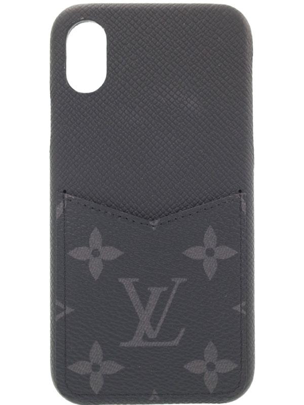 【LOUIS VUITTON】ルイヴィトン『IPHONE バンパー XS』M67806 メンズ レディース アイフォンケース 1週間保証【中古】b06b/h18AB