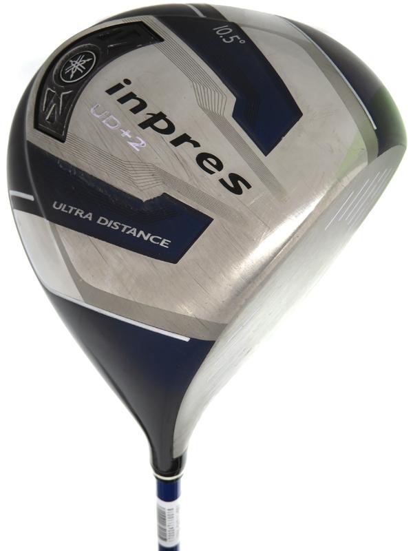 【Yamaha Golf】ヤマハ『インプレス UD+2 ドライバー 10.5° TMX-417D フレックスR』右利き ゴルフクラブ 1週間保証【中古】b06e/h17B