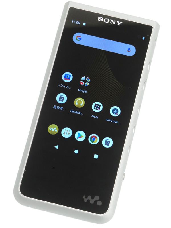 【SONY】ソニー『ウォークマンZXシリーズ』NW-ZX507(S) シルバー 64GB ハイレゾストリーミング対応 ポータブルオーディオ 1週間保証【中古】b06e/h17AB