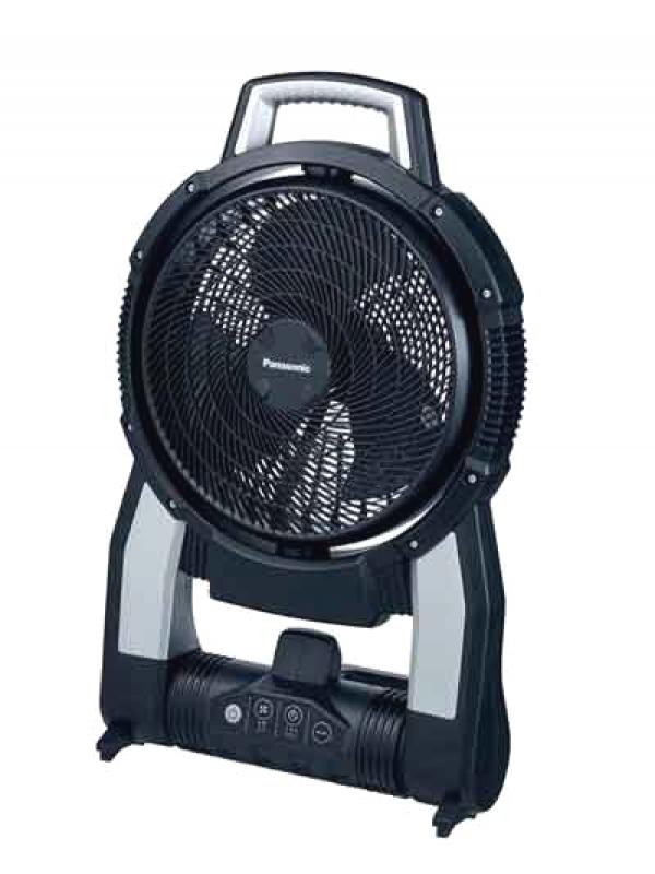 【Panasonic】パナソニック『工事用充電扇風機』EZ37A4-B 黒 本体のみ 14.4V-18Vデュアル対応 1週間保証【新品】b00t/b00N