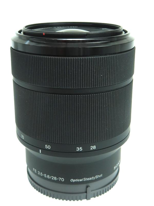 【SONY】ソニー『FE 28-70mm F3.5-5.6 OSS』SEL2870 Eマウント フルサイズ デジタル一眼カメラ用レンズ 1週間保証【中古】b03e/h07AB