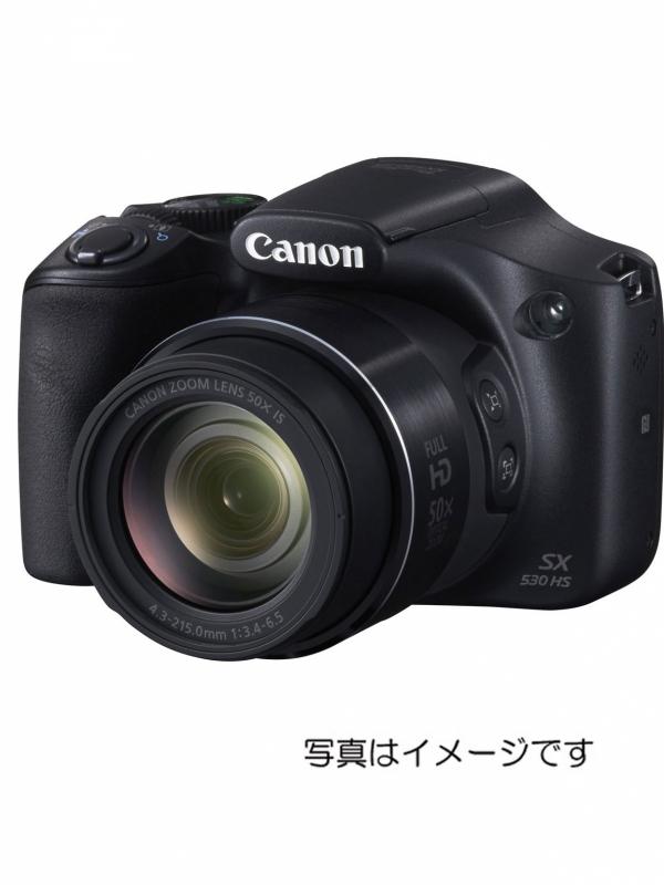 【Canon】【1600万画素】【光学ズーム50倍】キヤノン『PowerShot SX530 HS ブラック』コンパクトデジタルカメラ 12ヶ月保証【新品】b00e/b00N