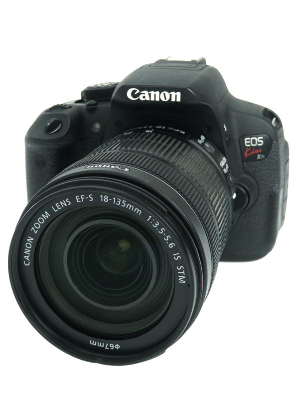 【Canon】キヤノン『EOS Kiss X7i EF-S 18-135 IS STMレンズキット』KISSX7I-18135ISSTMLK 1800万画素 SDXC デジタル一眼レフカメラ 1週間保証【中古】b03e/h20B