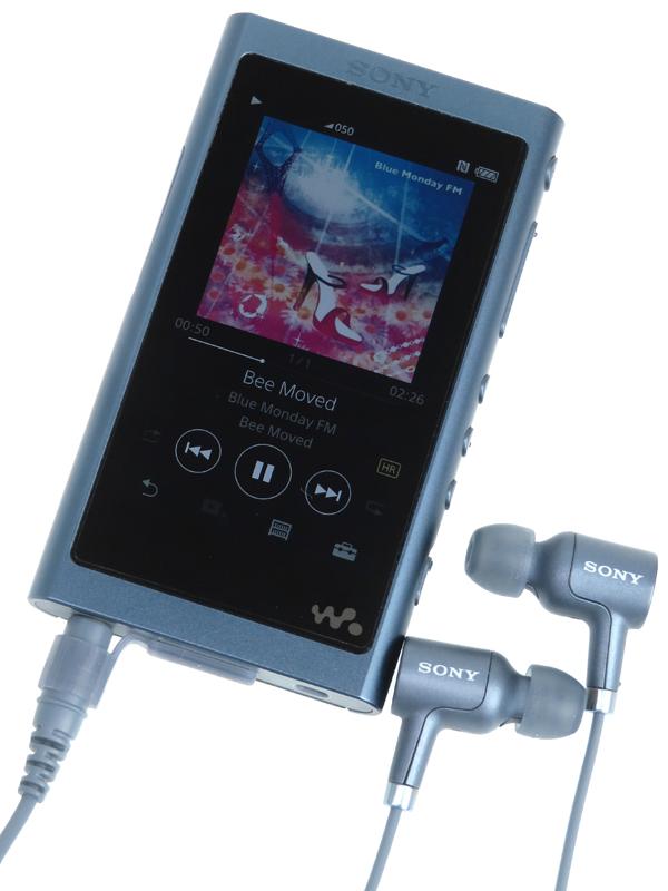 【SONY】ソニー『ウォークマンAシリーズ』NW-A55HN(L) ムーンリットブルー 16GB ハイレゾ対応 ポータブルオーディオ 1週間保証【中古】b06e/h18AB