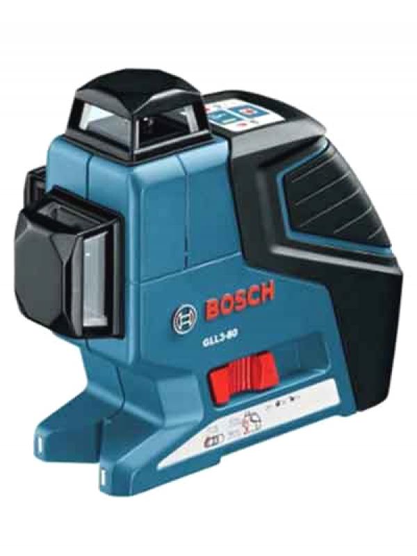 【BOSCH】ボッシュ『レーザー墨出し器』GLL3-80KIT フルライン 受光器付 ウォールマウント 1週間保証【新品】