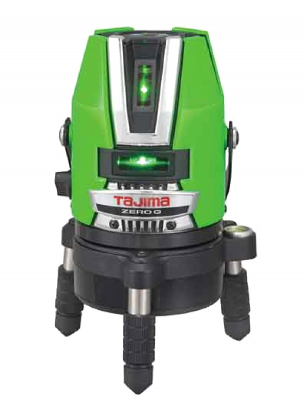 【TAJIMA】タジマ『グリーンレーザー墨出し器』ZEROGN-KJY 受光器付 NAVI機能付 1週間保証【新品】b00t/b00N