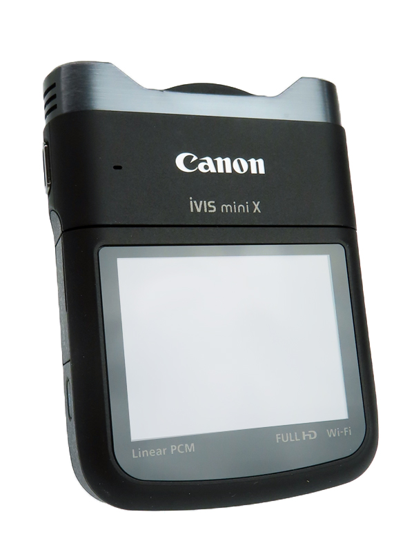 【Canon】キヤノン『iVIS mini X』9114B001 2014年10月 ブラック 2.7型 899万画素 フルハイビジョン 手ぶれ補正 デジタルビデオカメラ 1週間保証【中古】b06e/h18AB