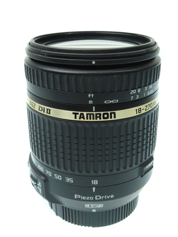 【TAMRON】タムロン『18-270mm F/3.5-6.3 Di II VC PZD ニコン用』B008 APS-Cサイズ相当 デジタル一眼レフカメラ用レンズ 1週間保証【中古】b03e/h11BC