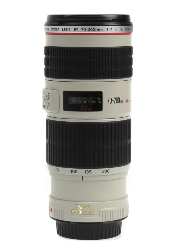 【Canon】キヤノン『EF70-200mm F4L IS USM』EF70-20040LIS 小型・高画質 IS搭載望遠レンズ 一眼レフカメラ用 1週間保証【中古】b03e/h20AB