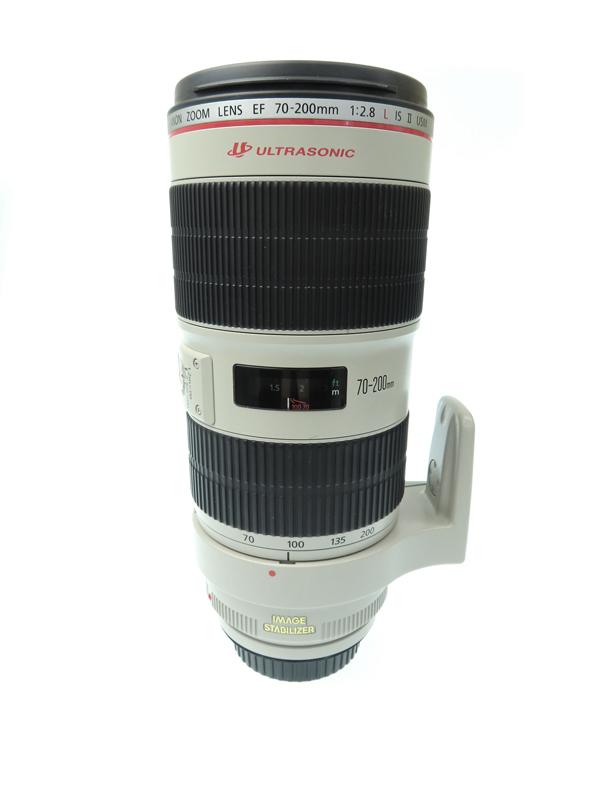 【Canon】キヤノン『EF70-200mm F2.8L IS II USM』EF70-200LIS2 望遠ズーム 手ブレ補正 一眼レフカメラ用レンズ 1週間保証【中古】b05e/h02AB