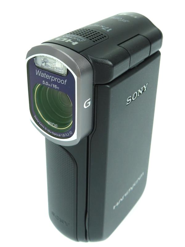 【SONY】ソニー『ハンディカム ブラック』HDR-GW77V 2012年 16GB GPS 手ぶれ補正 防水・防塵 光学10倍 3インチ デジタルビデオカメラ 1週間保証【中古】b06e/h16AB
