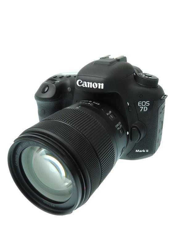 【Canon】キヤノン『EOS 7D Mark II EF-S18-135 IS USM レンズキット W-E1』約2020万画素 3インチ SDXC デジタル一眼レフカメラ 1週間保証【中古】b03e/h15AB