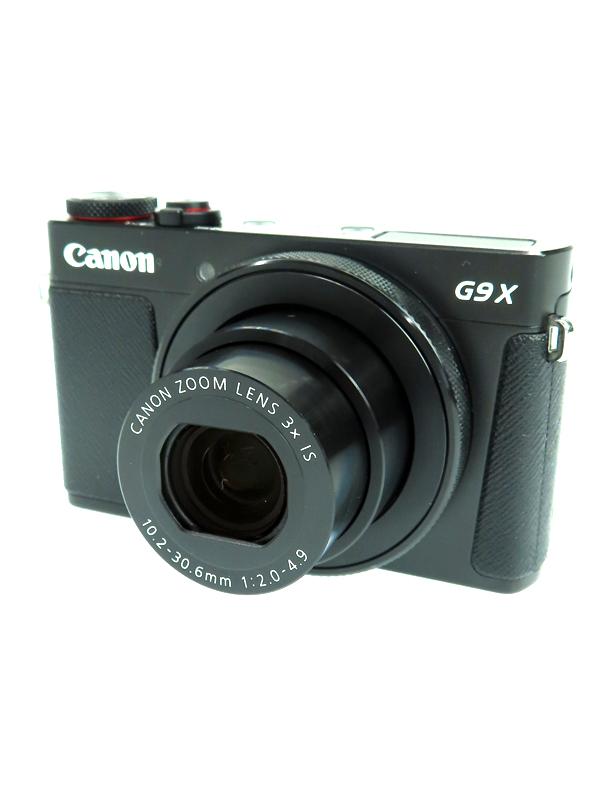 【Canon】キヤノン『PowerShot G9 X Mark II』PSG9XMARKII ブラック 2010万画素 光学3倍 SDXC フルHD動画 コンパクトデジタルカメラ 1週間保証【中古】b03e/h06AB