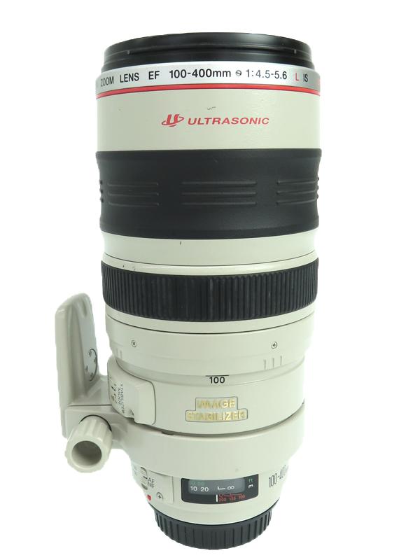 【Canon】キヤノン『EF100-400mm F4.5-5.6L IS USM』EF100-400LIS 望遠ズーム 手ブレ補正 一眼レフカメラ用レンズ 1週間保証【中古】b03e/h20B