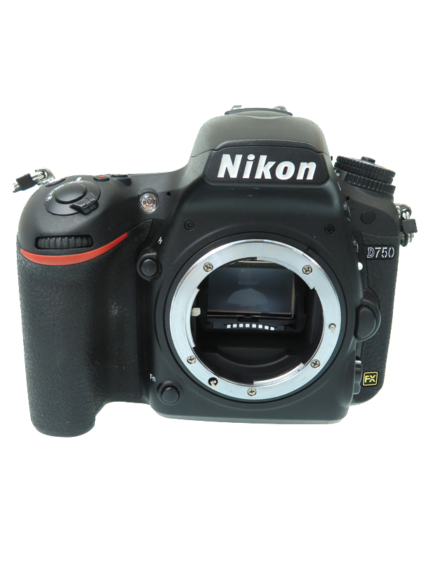【Nikon】ニコン『D750 ボディ』2014年 約2432万画素 3.2インチ Wi-Fi 防塵・防滴 デジタル一眼レフカメラ 1週間保証【中古】b03e/h12AB