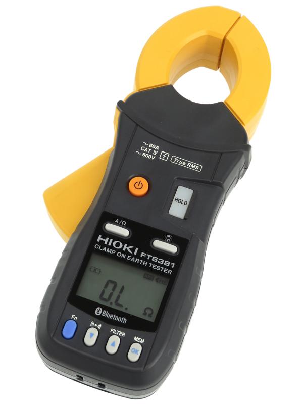 【HIOKI】日置電機『クランプ接地抵抗計』FT6381 多重接地専用 1週間保証【中古】b03t/h02AB