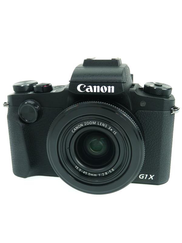 【Canon】キヤノン『PowerShot G1 X Mark III』PSG1XMARKIII 2420万画素 光学3倍 広角24mm コンパクトデジタルカメラ 1週間保証【中古】b05e/h10AB