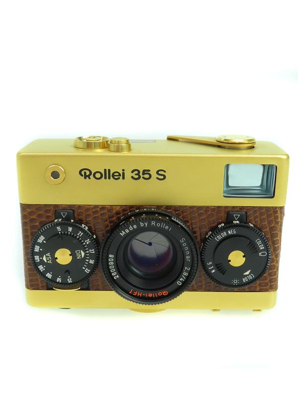 Rollei ローライ 35S 未使用 Gold 40mmF2.8 1週間保証 コンパクトフィルムカメラ 60周年記念モデル 中古 25%OFF