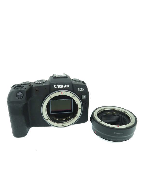 【Canon】キヤノン『EOS RP マウントアダプターセット』約2620万画素 3インチ SDXC Wi-Fi 防塵・防滴 デジタル一眼レフカメラ 1週間保証【中古】