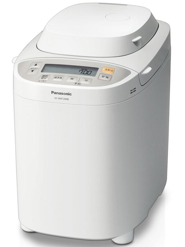 Panasonic パナソニック ホームベーカリー 人気ブランド多数対象 ホワイト 中古 SD-BMT2000-W 1.5-2斤タイプ 1週間保証 ギフ_包装