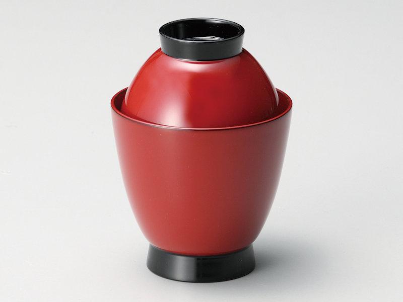 和食器 蓋付き おもてなし 朱 記念品 懐石料理 ギフト プレゼント 来客 かわいい 5客:本漆塗り 小椀 おしゃれ 吸物椀