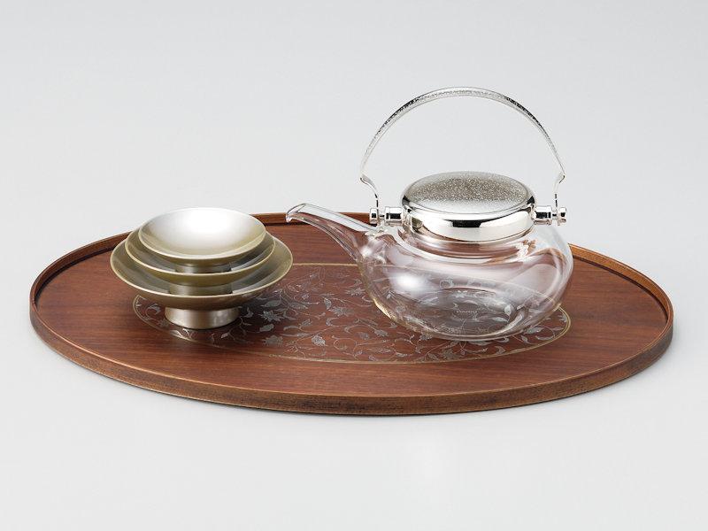 アールデコ調とガラス製との調和が美しい新しい屠蘇器です 激安☆超特価 アールデコ 屠蘇器 1組:ガラス 和食器 お正月 酒盃 御祝 お屠蘇 選択 高級 祝杯