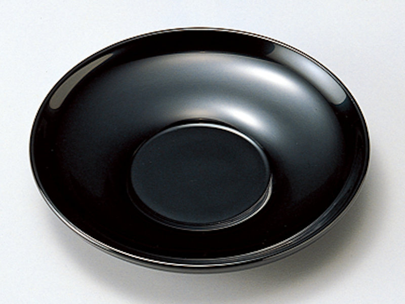 艶やかな漆黒とベーシックな形は末永く御使用いただけます 3 5茶托 黒 5枚:木製漆塗り 日本製 コースター プレゼント チープ 来客用 ギフト おしゃれ かわいい 記念品 優先配送