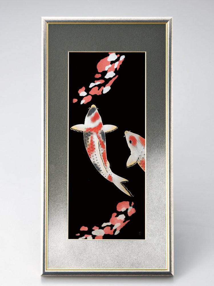 彩り鯉パネル 1枚