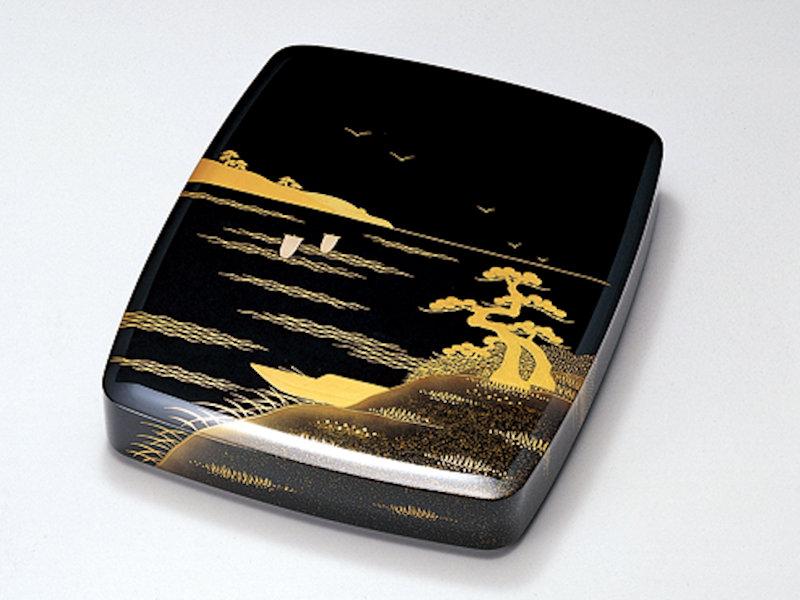 格安販売中 山水 胴張硯箱 黒 1個:木製漆塗り 黒 日本製 書道 習字 胴張硯箱 デスク 山水 御祝 記念品 プレゼント ギフト, アロマ生活:6d8b1cb2 --- gerber-bodin.fr
