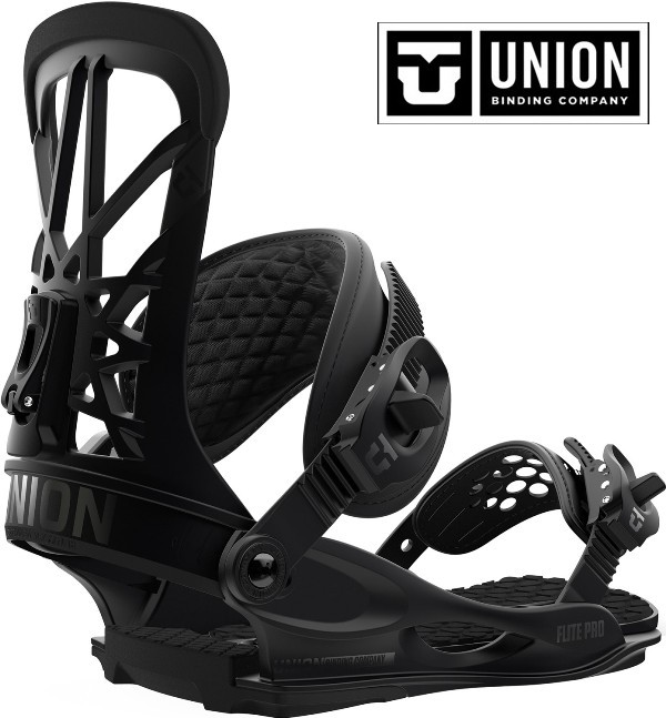 【18-19】UNION FLITE PRO BLACK Sサイズ BINDING ユニオン ビンディング メンズ