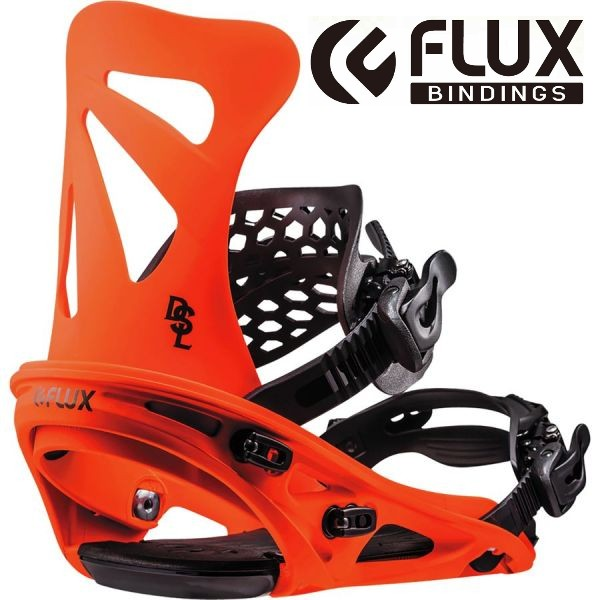 【18-19】FLUX DSL NEON ORANGE フラックス ビンディング メンズ