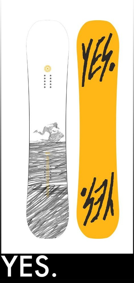 【16-17】YES THE PUBLIC 148cm イエス スノーボード