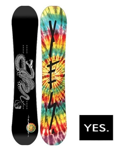 【16-17】YES TDF 154cm 布施 忠 イエス スノーボード