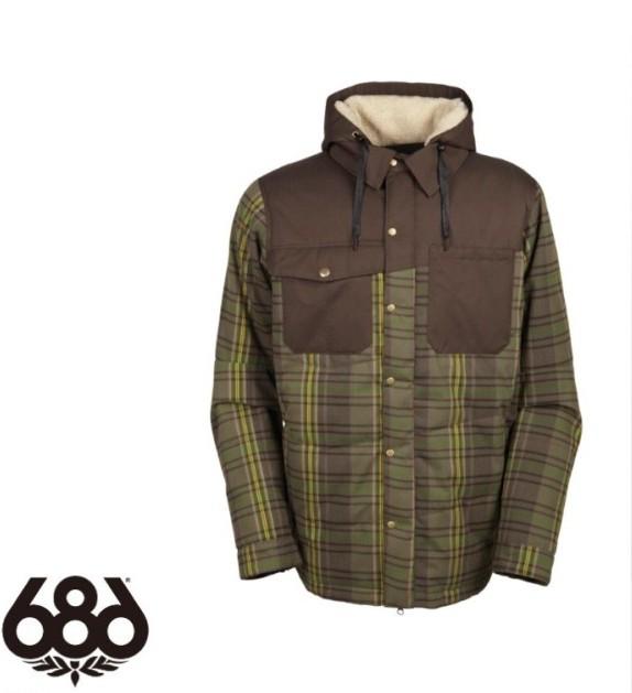 【686】2016 シックスエイトシックス Woodland Insulated Jacket TOBACCO ジャケットメンズ