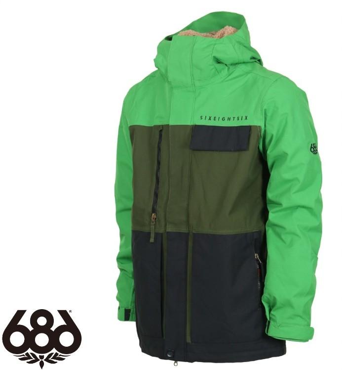 【686】シックスエイトシックス AUTH Smarty Form Jacket GREEN ジャケットメンズ