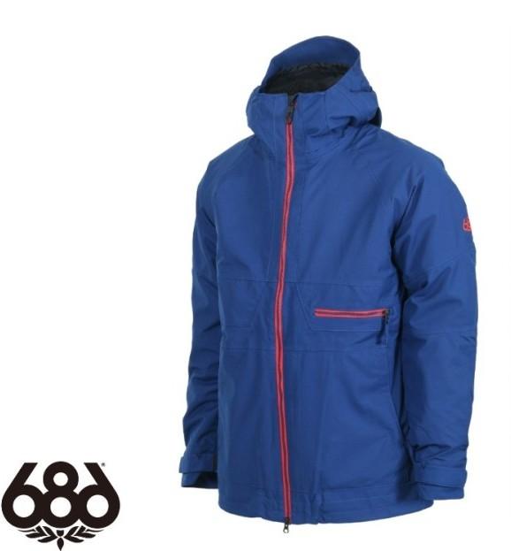 686 シックスエイトシックス AUTH Smarty Network Jacket INDIGO ジャケットメンズ 『2営業日以内発送』
