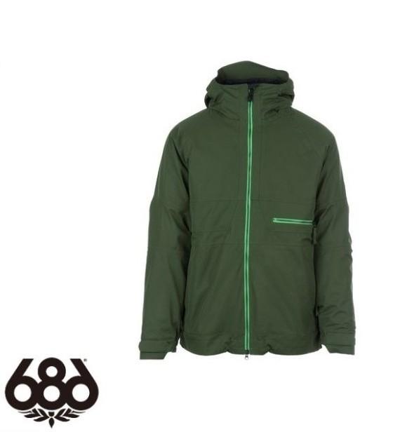 【686】シックスエイトシックス AUTH Smarty Network Jacket F GREEN ジャケットメンズ